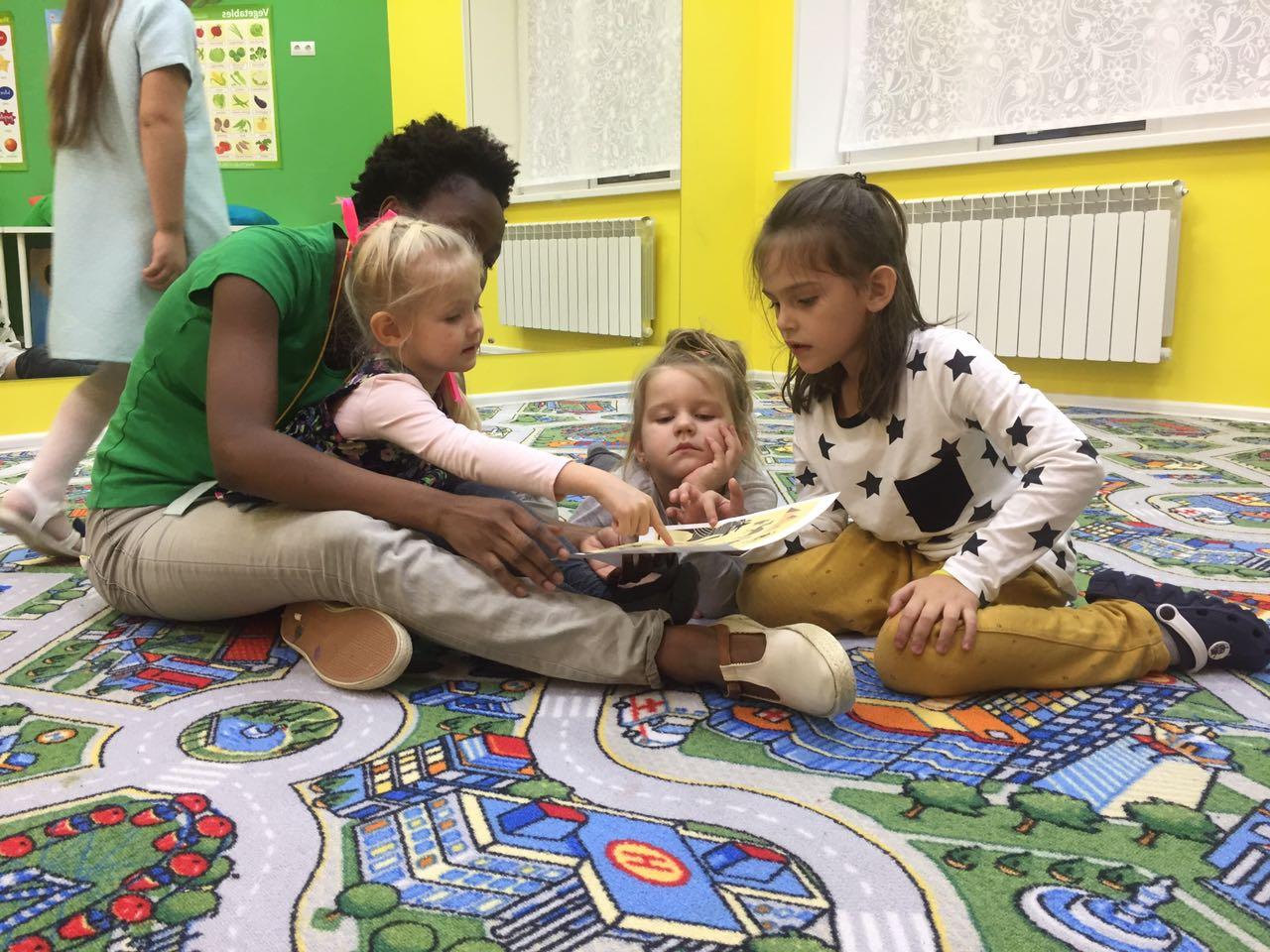 детские английские клубы москвы